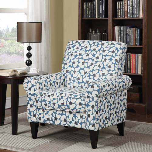 Image of: awesome blue accent chair