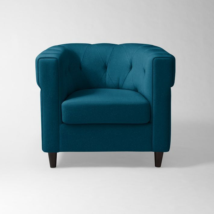 Image of: blue accent chair images