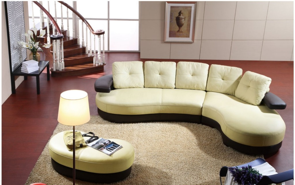 Image of: chic living room sectionals