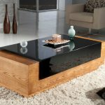Contemporary Coffee Tables Glass Top