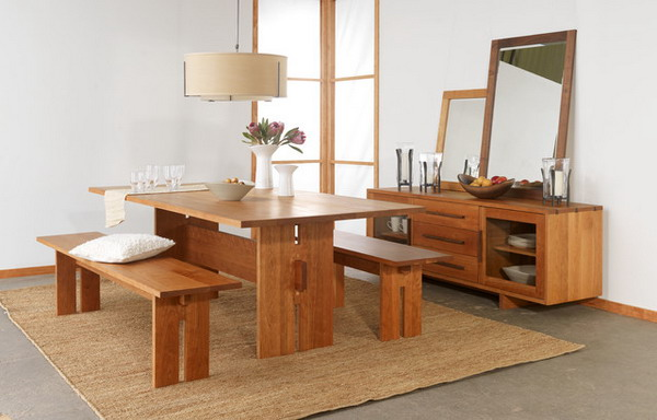 Corner Dining Table With Bench