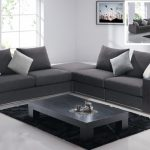cozy gray sectional sofa