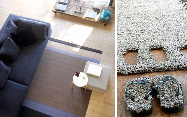 Image of: cute modern rugs