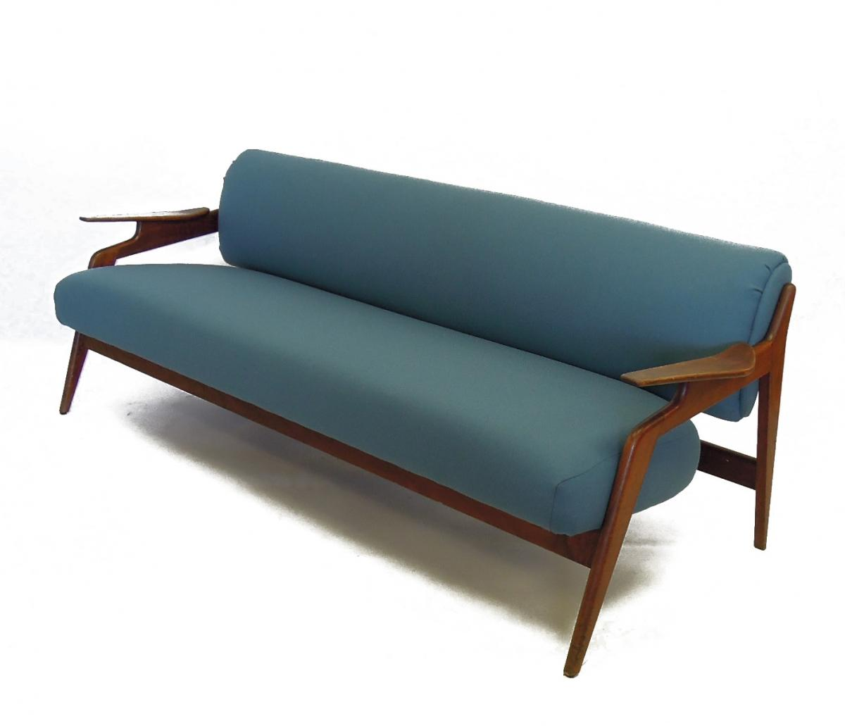Image of: danish mid century sofa