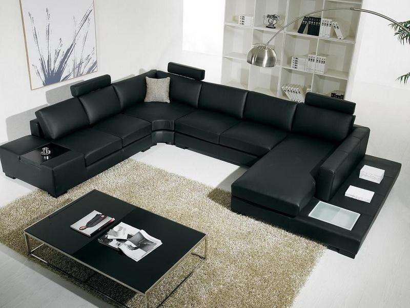Image of: design living room sectionals
