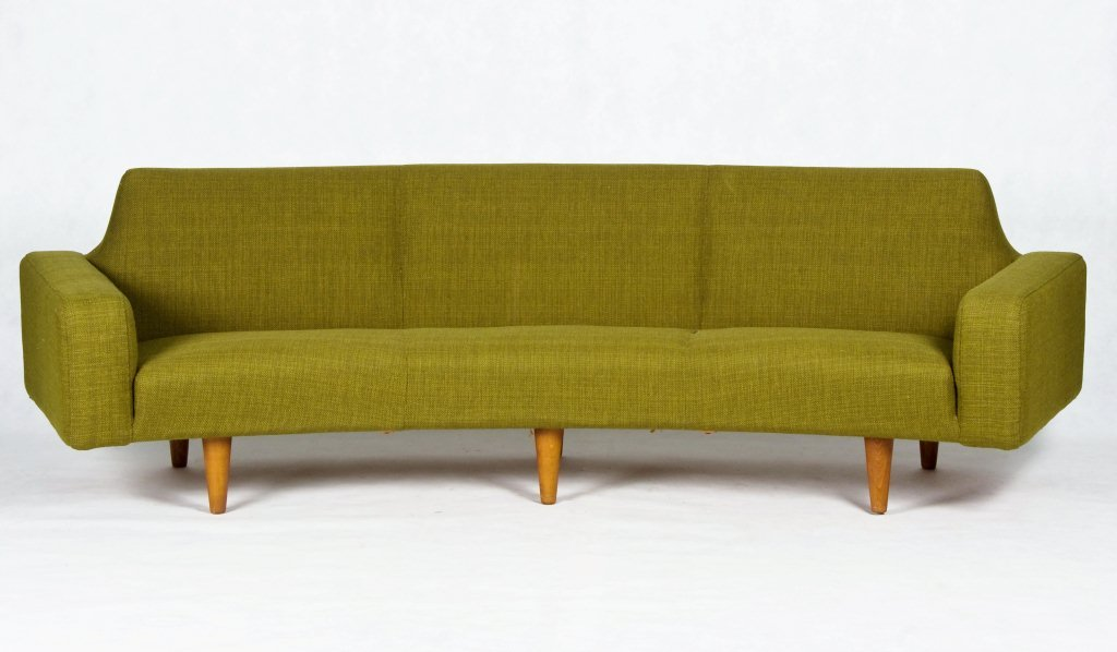 Image of: design mid century sofa