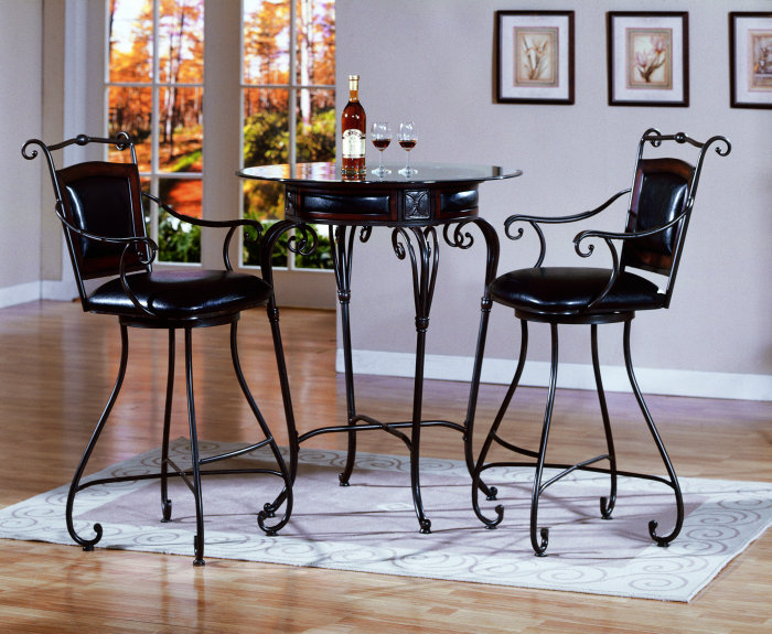 Picture of: elegant bistro table set ideas