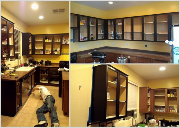 Picture of: kitchen cabinet refinishing ideas