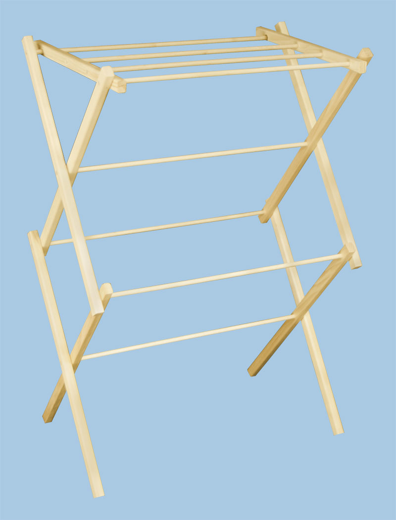 Image of: laundry drying rack simple