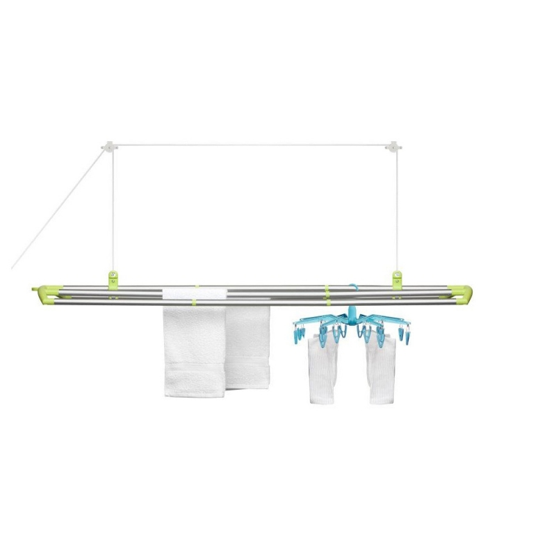 Image of: loft laundry drying rack