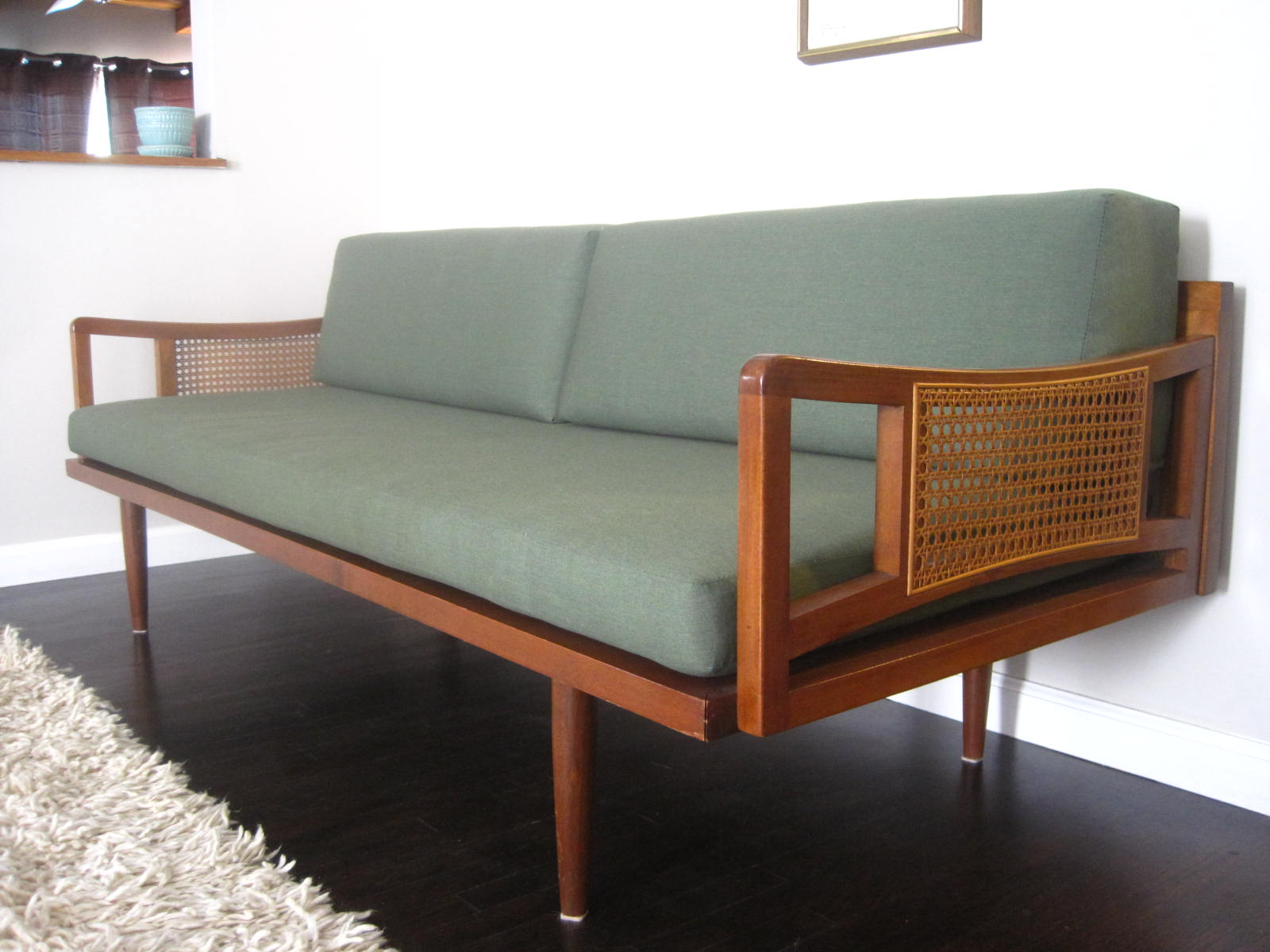 Image of: mid century sofa design