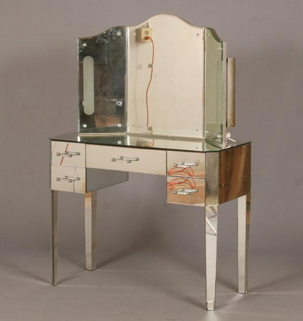 Picture of: mirrored vanity table image