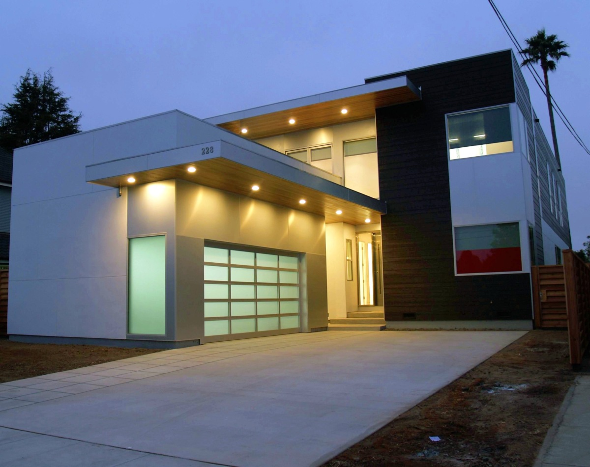 Image of: modern modular homes modern prefab