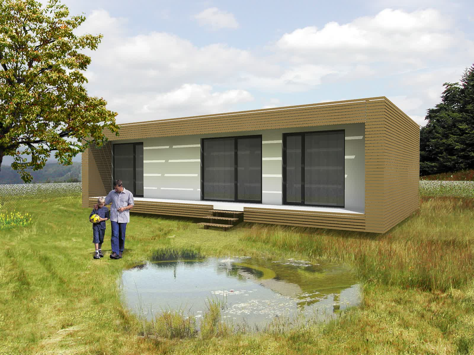 Image of: modern prefab homes ideas