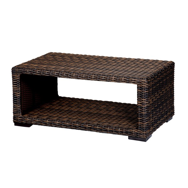 Image of: montecito wicker coffee table