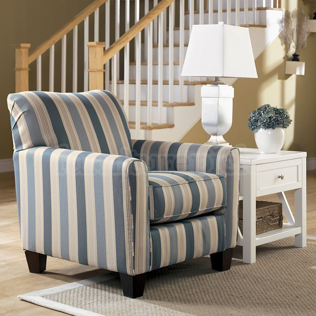 Image of: nice blue accent chair
