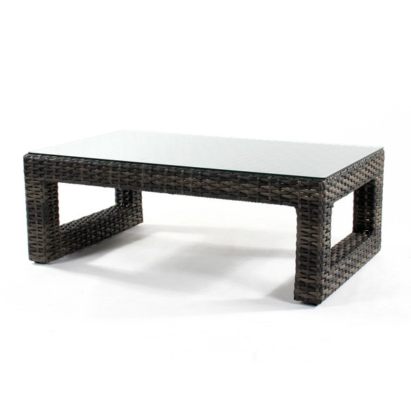 Image of: regatta wicker coffee table