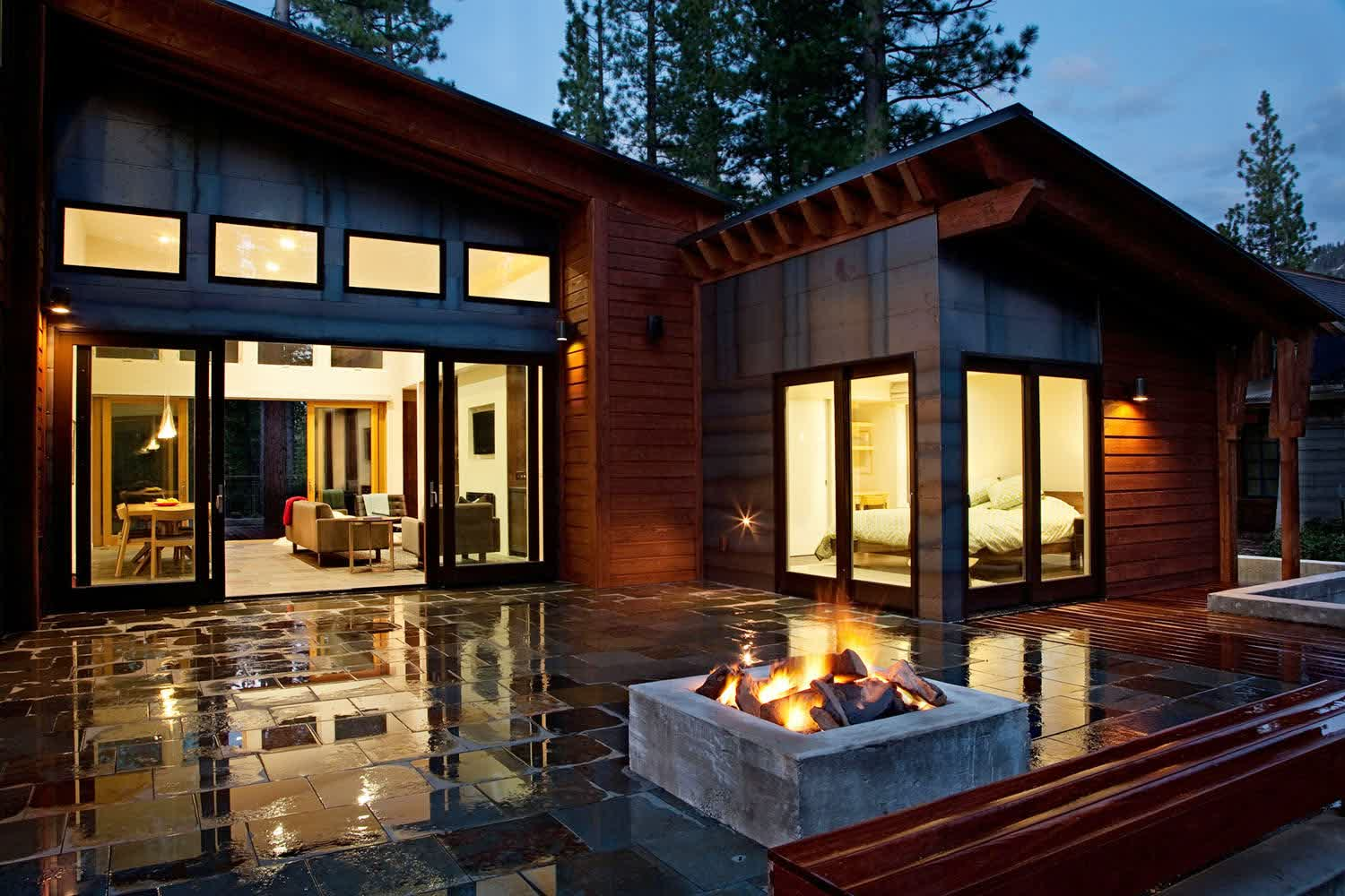 Image of: simple elegant modern prefab homes