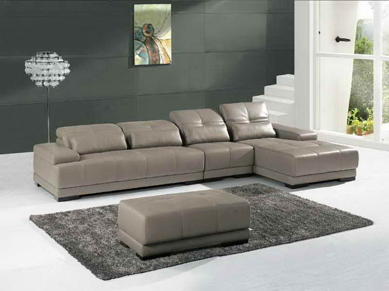 Image of: trendy living room sectionals
