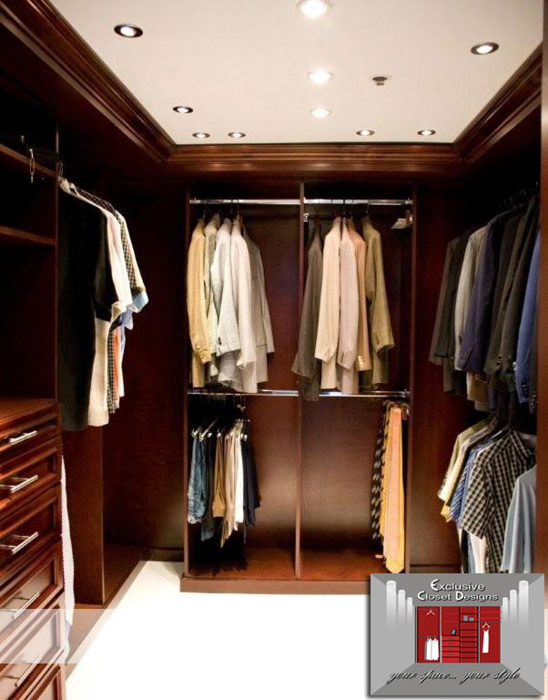 Image of: walk in closets contemporary