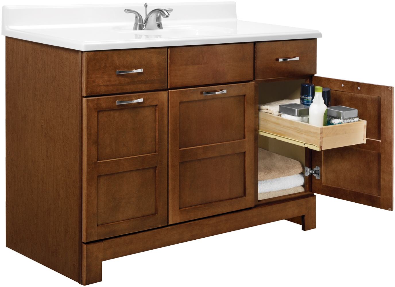 Picture of: 48 bathroom vanity casual design