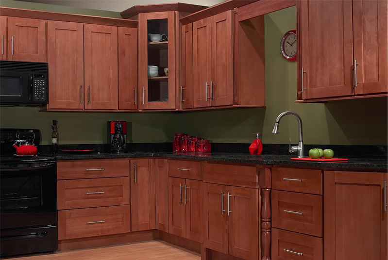 Image of: Best shaker style cabinets design