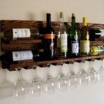 Wooden Wine Racks wall