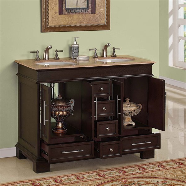 Picture of: awesome 48 bathroom vanity