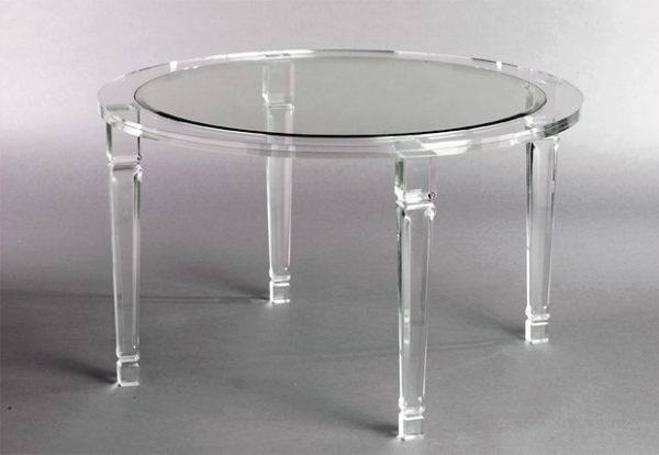 Image of: awesome lucite table