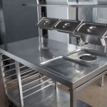 Design Of Stainless Steel Prep Table