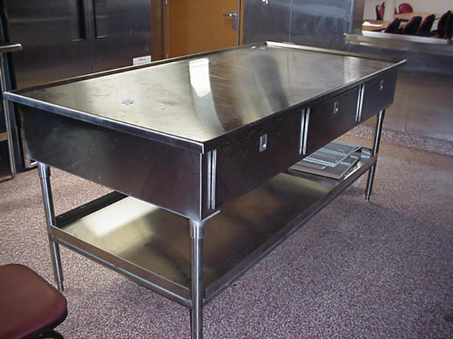 Picture of: design stainless steel prep table