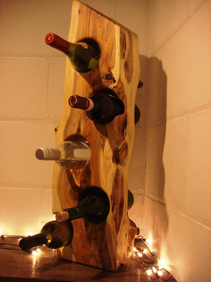 elegant Wooden Wine Racks