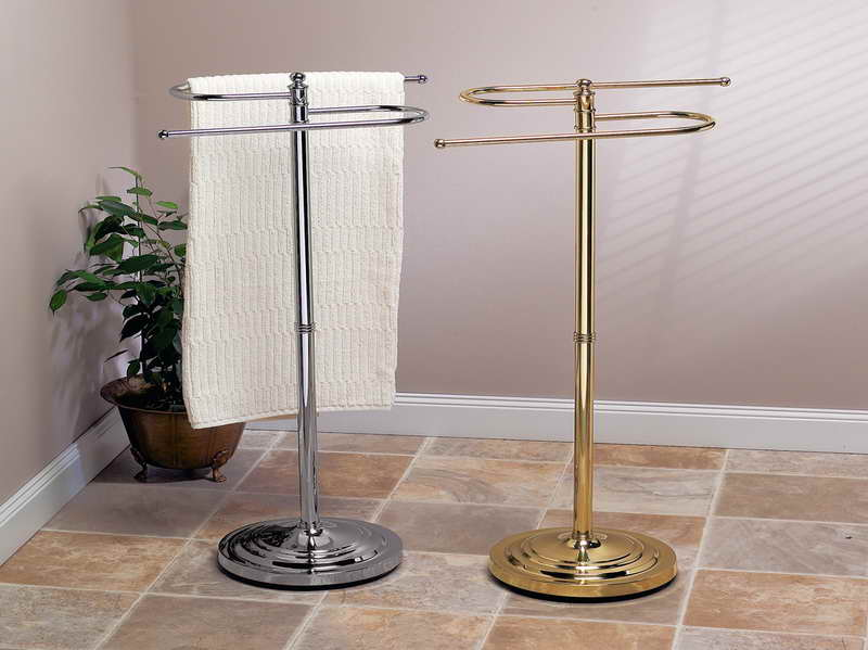 Picture of: free standing towel rack material