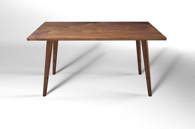 Picture of: height mid century modern coffee table