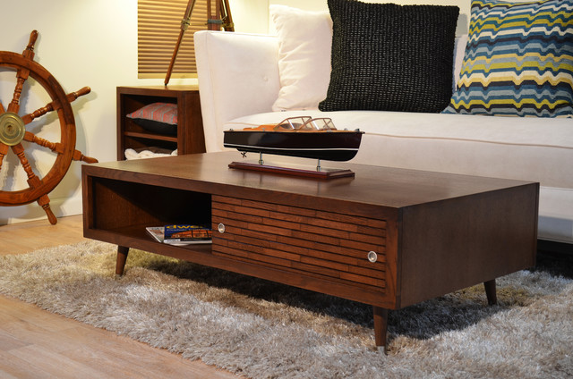 Picture of: mid century modern coffee table ideas