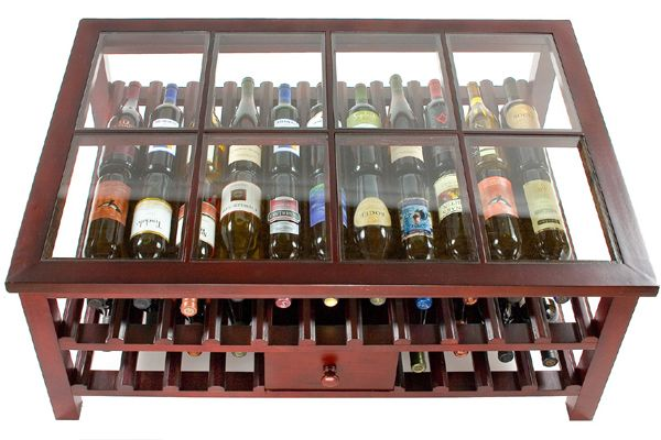 Picture of: modern Wooden Wine Racks