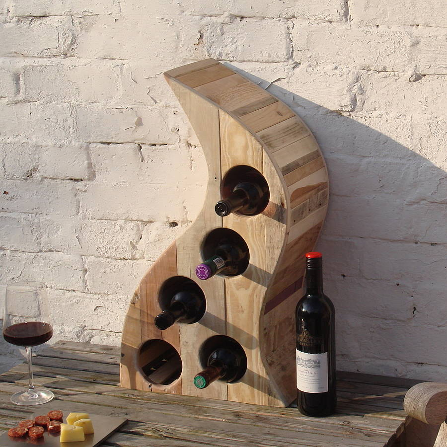 Picture of: original Wooden Wine Racks