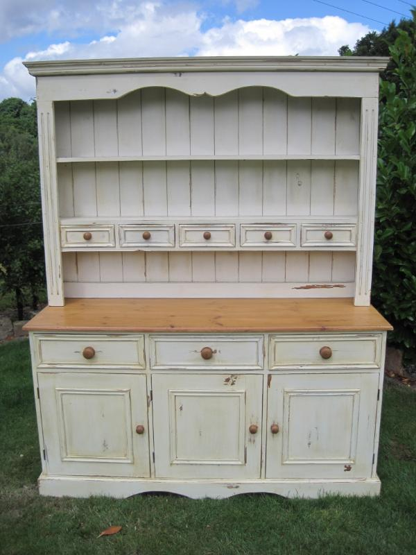 Image of: pine dresser white