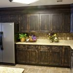refinish kitchen cabinets image