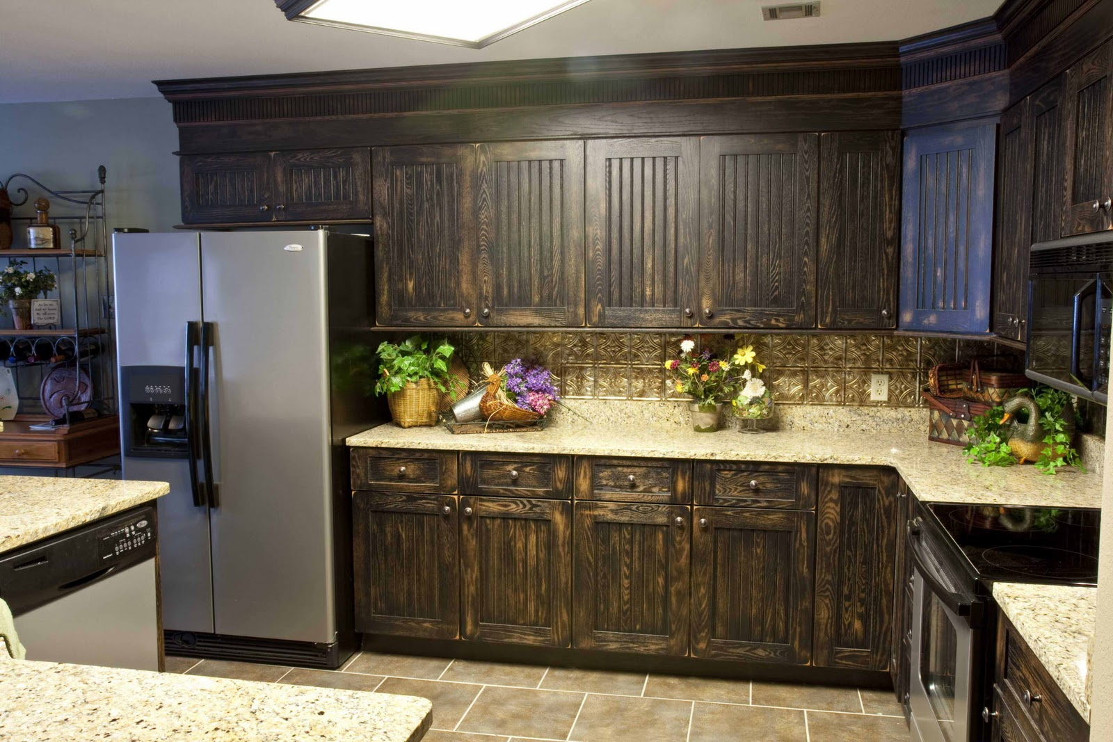 Picture of: refinish kitchen cabinets image