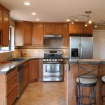 refinish kitchen cabinets pict