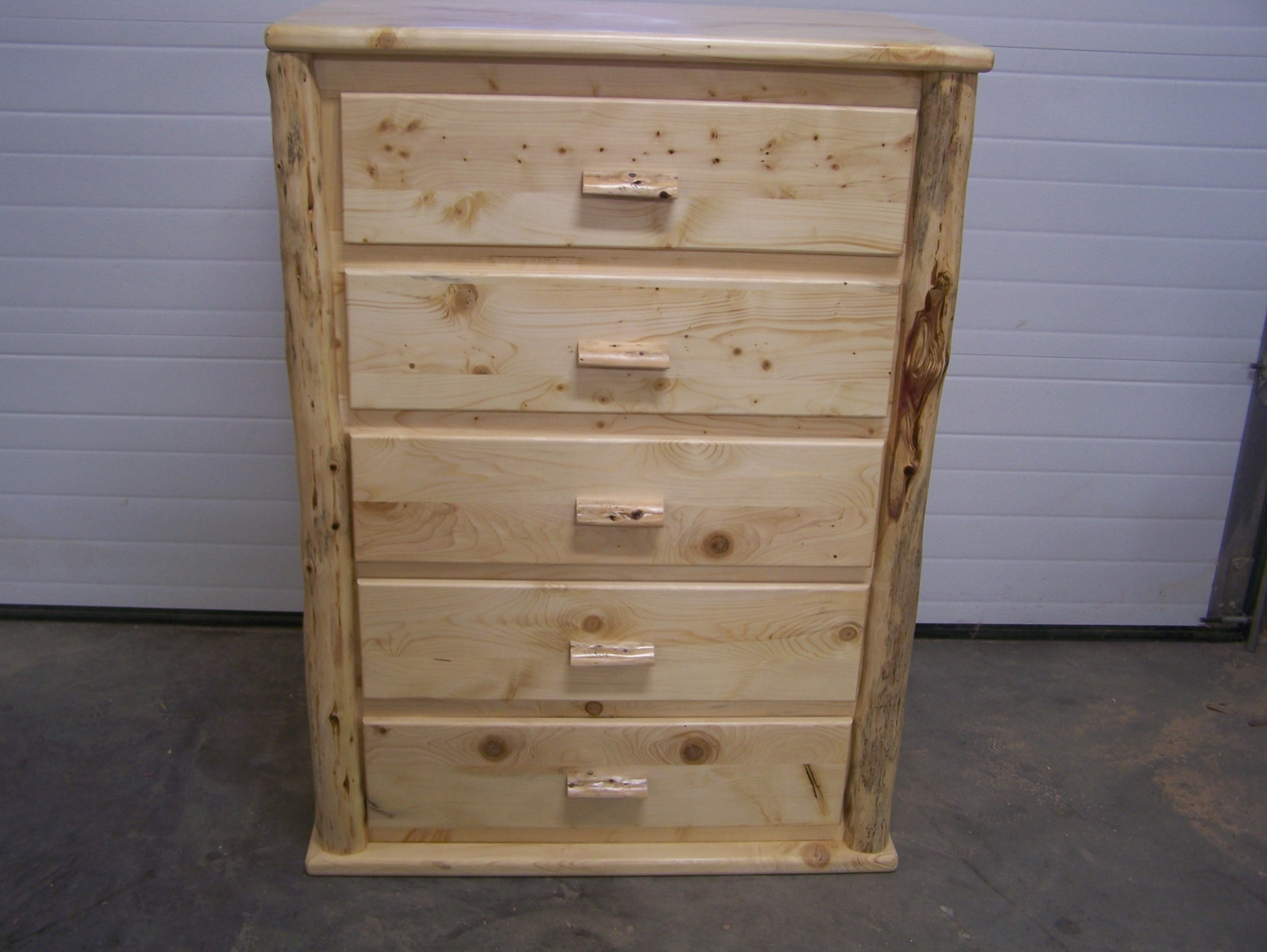 Picture of: rustic pine dresser