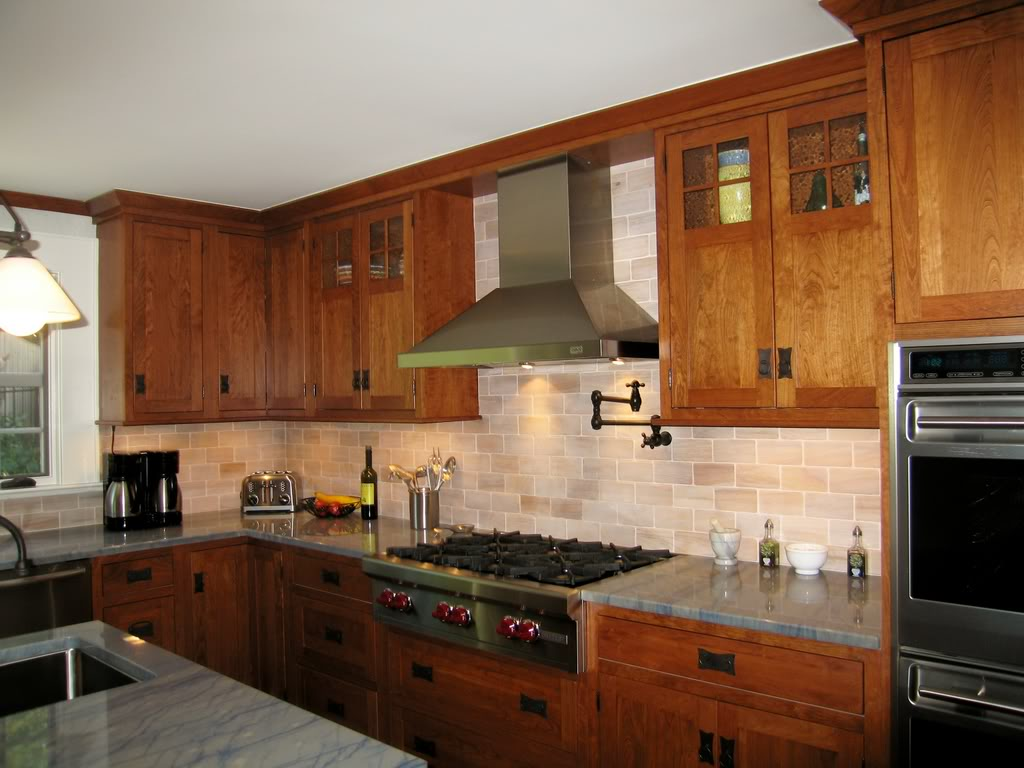 Image of: shaker style cabinets design