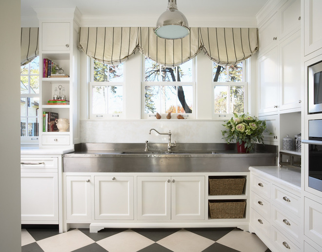 Picture of: shaker style cabinets traditional white