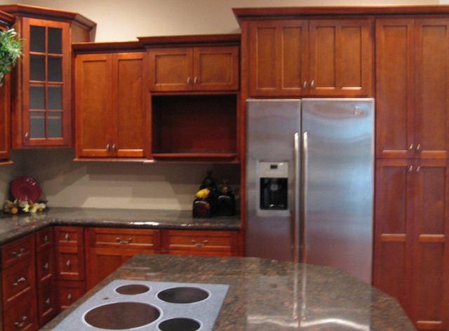 Picture of: shaker style cabinets traditional