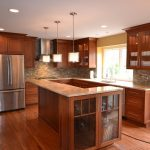 shaker style cabinets wood cherry