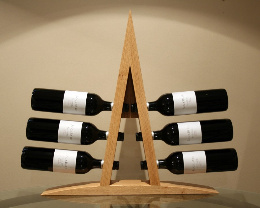 Picture of: simple Wooden Wine Racks