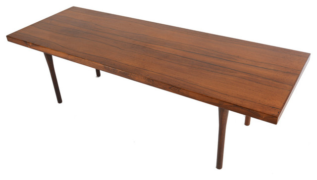 Picture of: simple mid century modern coffee table