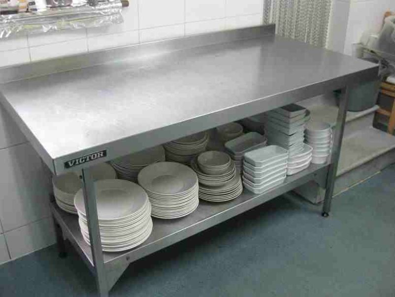 Stainless Steel Prep Table Photo