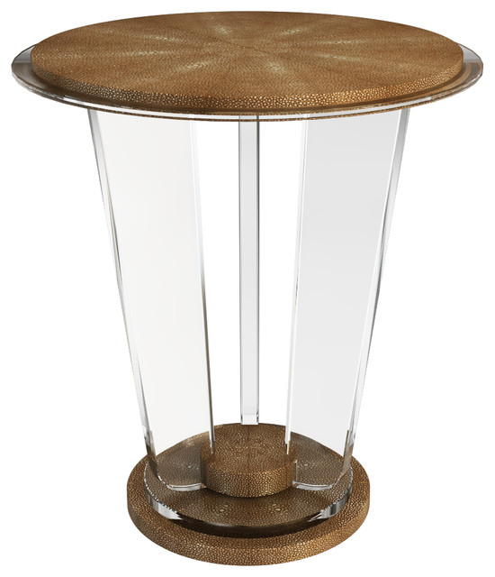 Image of: unique lucite table